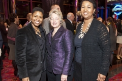 Vernice Armour, from left, Mayor Annise Parker and former astronaut Dr. Mae Jamison at Red Tails. Photo by © Michelle Watson/CatchLightGroup.com